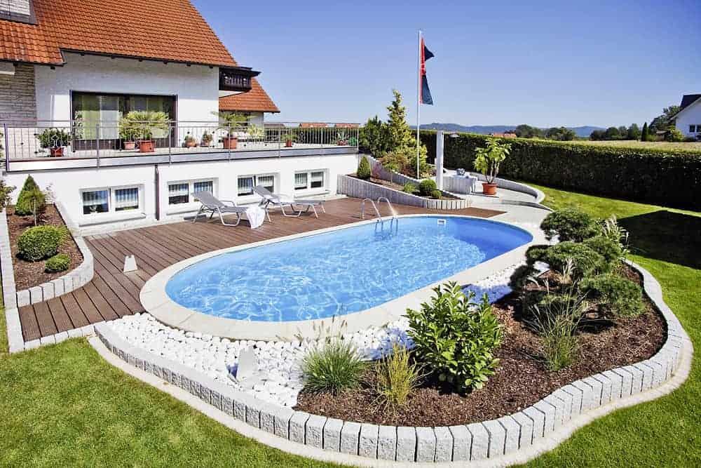 piscina metalica ovala